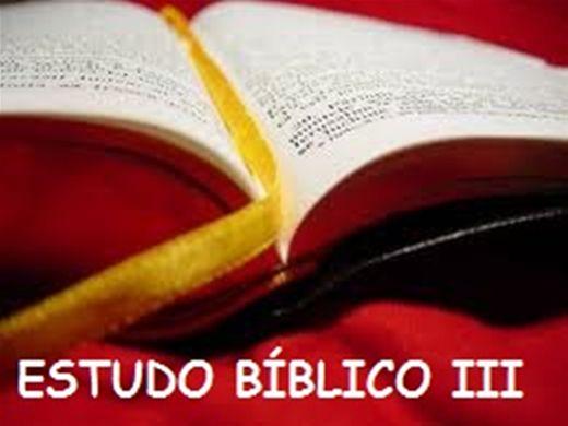 Curso Online de ESTUDO BÍBLICO III