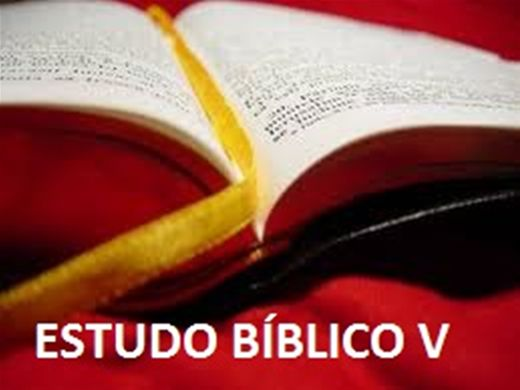 Curso Online de ESTUDO BÍBLICO V
