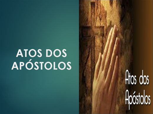 Curso Online de ATOS DOS APÓSTOLOS