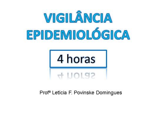 Curso Online de Vigilância Epidemiológica