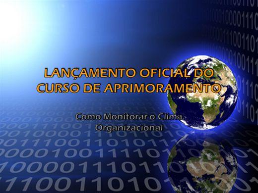 Curso Online de Monitorar o Clima Organizacional