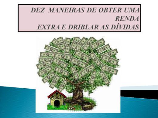 Curso Online de DEZ MANEIRAS DE OBTER UMA RENDA EXTRA