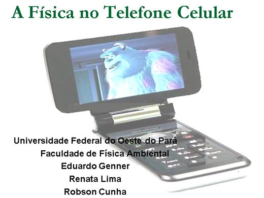 Curso Online de A Física no Telefone Celular