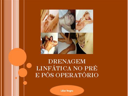 Curso Online de Drenagem pós operatória