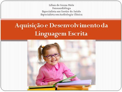 Curso Online de Aquisição e Desenvolvimento da Linguagem Escrita
