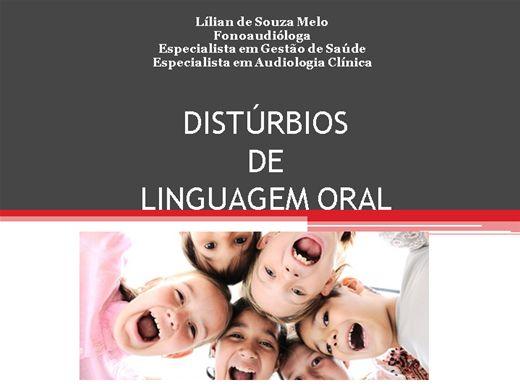 Curso Online de DISTÚRBIOS DE LINGUAGEM ORAL