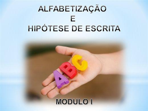 Curso Online de Alfabetização e Hipósete de Escrita Modulo I