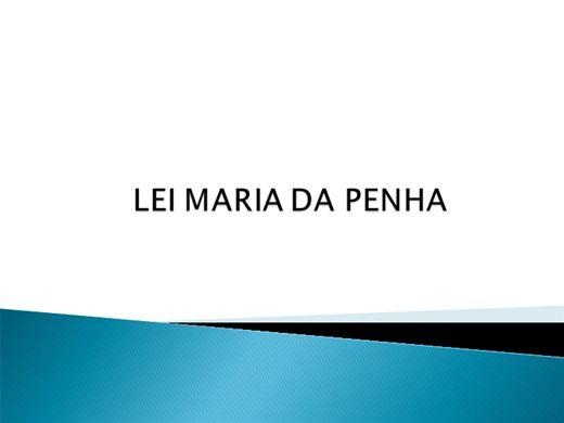 Curso Online de Lei Maria da Penha