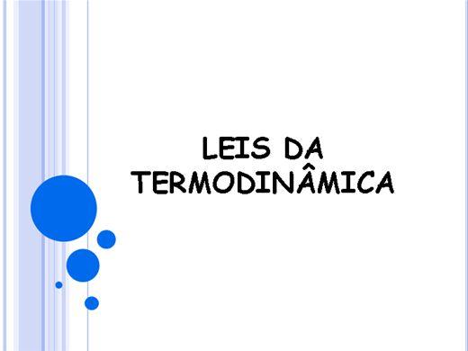 Curso Online de Leis da Termodinâmica
