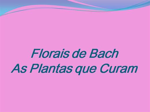 Curso Online de Curso sobre Florais de Bach