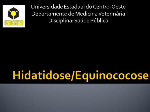Curso Online de Hidatidose e Equinococose