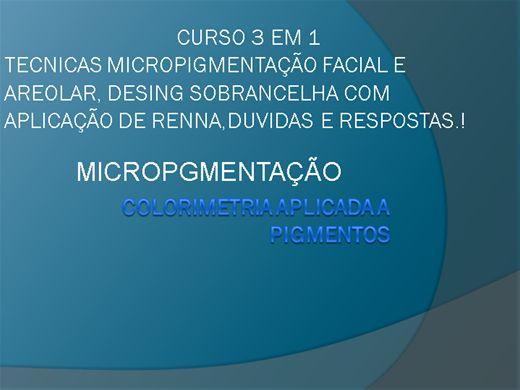 Curso de micropigmentacao em recife