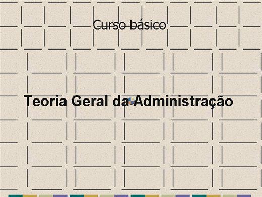 Curso Online de Curso BASICO DE ADMINISTRAÇÃO