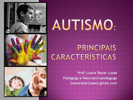 Curso Online de Autismo: suas principais características