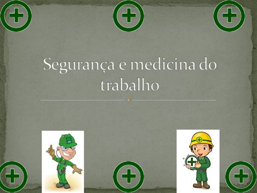 Curso Online de SEGURANÇA E MEDICINA DO TRABALHO