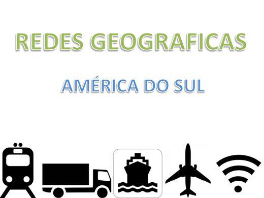 Curso Online de Redes Geográficas na America do Sul