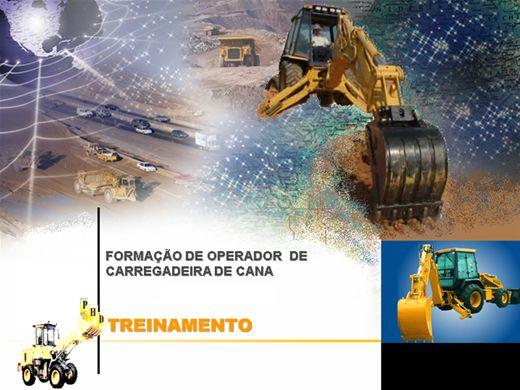 Curso Online de FORMAÇÃO DE OPERADOR  DE CARREGADEIRA DE CANA