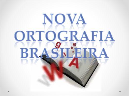 Curso Online de NOVA ORTOGRAFIA BRASILEIRA