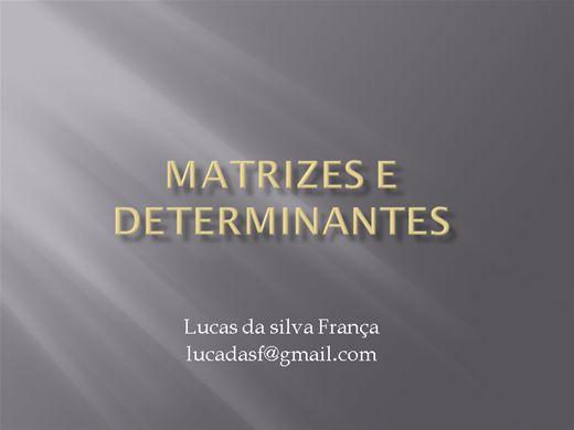 Curso Online de Cálculo de Determinantes