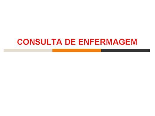 Curso Online de Consulta de enfermagem ao adolescenteCONSULTA DE ENFERMAGEM