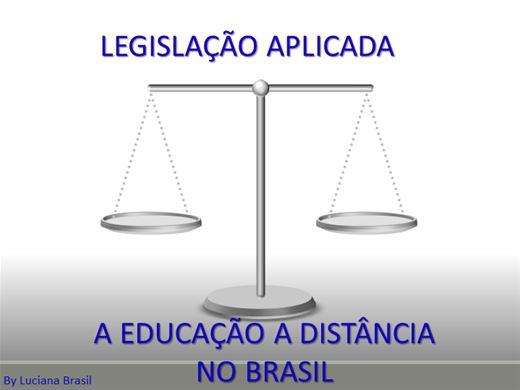 Curso Online de A Legislação Aplicada a Educação a Distância