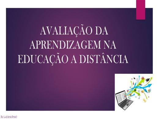 Curso Online de AVALIAÇÃO DA APRENDIZAGEM NA EDUCAÇÃO A DISTÂNCIA