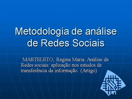 Curso Online de Metodologia nas Redes Sociais