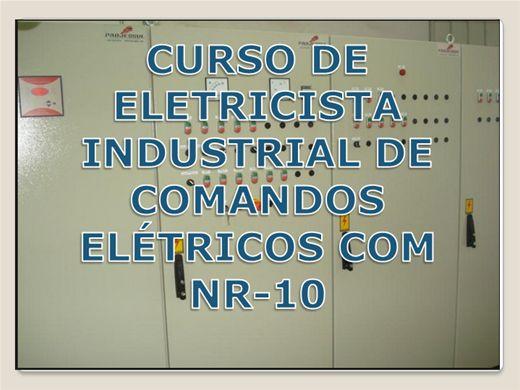 Curso Online de CURSO DE ELETRICISTA INDUSTRIAL DE COMANDOS ELÉTRICOS COM NR-10