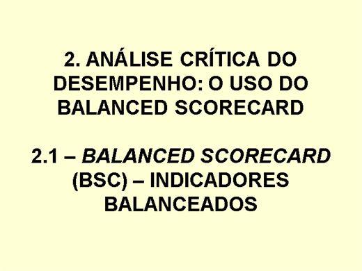 Curso Online de Responsabilidade Social - Scorecard