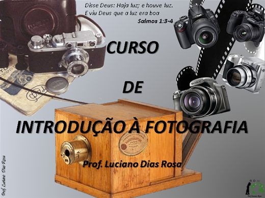 Curso Online de Introdução à fotografia