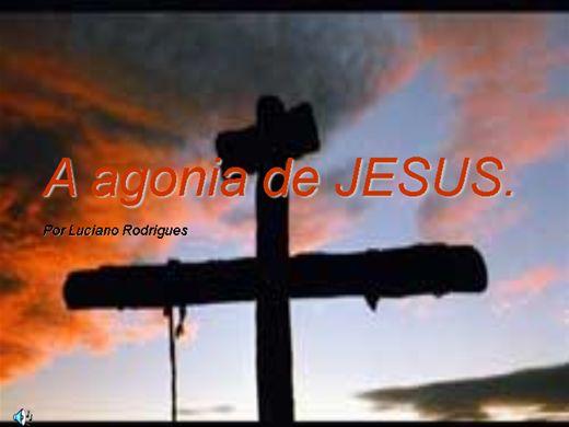 Curso Online de A agonia de JESUS.