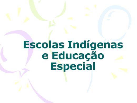 Curso Online de Escolas Indígenas e Educação Especial