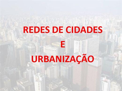 Curso Online de Urbanização e Rede de Cidades