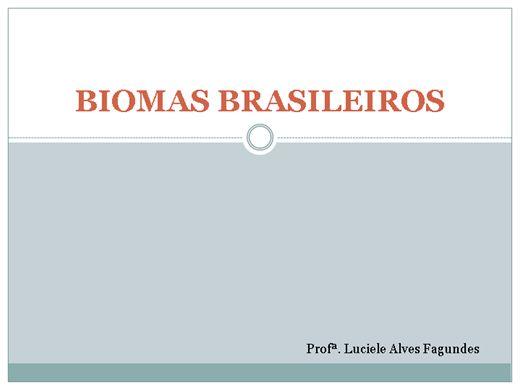 Curso Online de Os biomas do Brasil