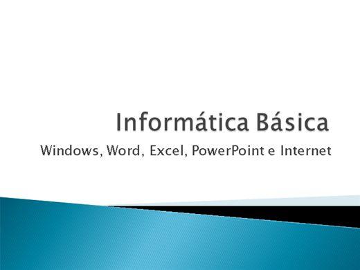 Curso Online de Curso Completo de Informática Básica