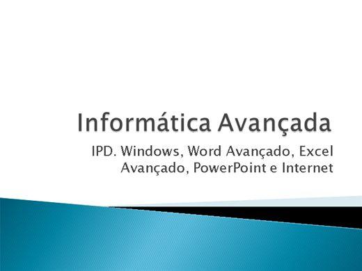 Curso Online de Curso Completo de Informática Avançada