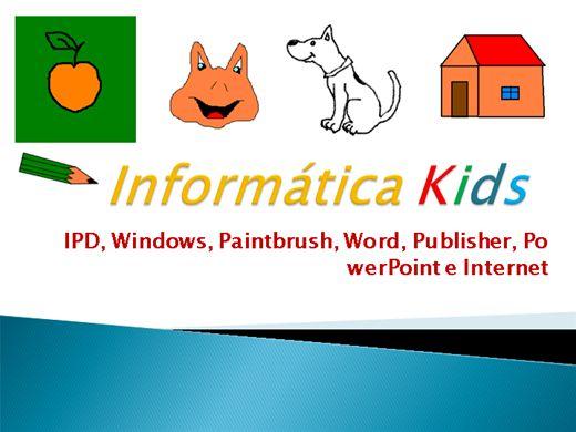 Curso Online de Curso de informática Kids