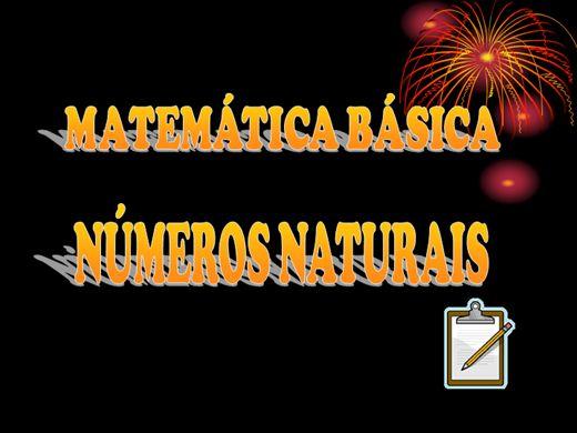 Curso Online de Matemática Básica - Números Naturais