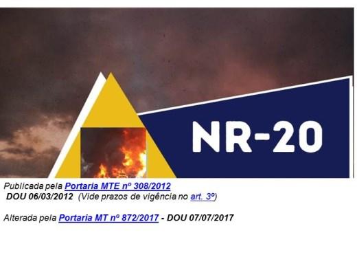 Curso Online de NR -20  Básico
