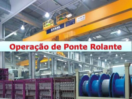 Curso Online de Operador de Ponte Rolante