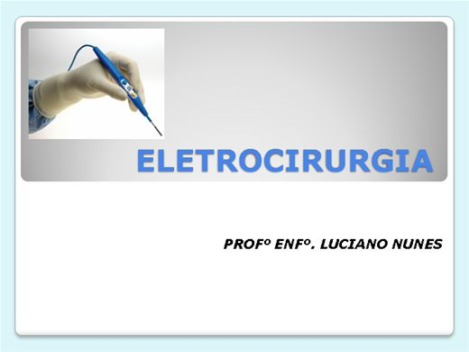 Curso Online de ELETROCIRURGIA