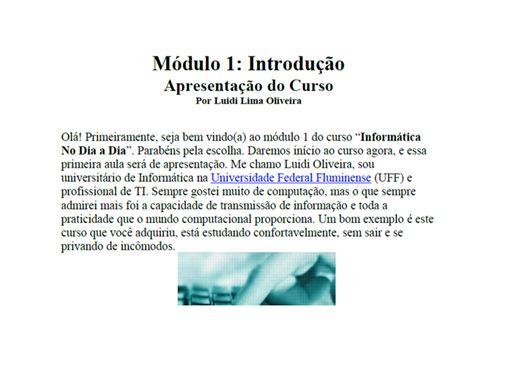 Curso Online de Informática No Dia a Dia