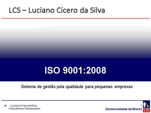 Curso Online de Formação de Auditor Interno da ISO 9001:2008