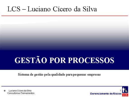 Curso Online de Gestão por Processos