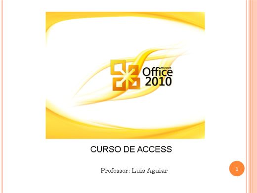 Curso Online de Curso de Access 2007