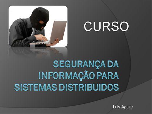 Curso Online de Segurança da Informação para Sistemas Distribuidos