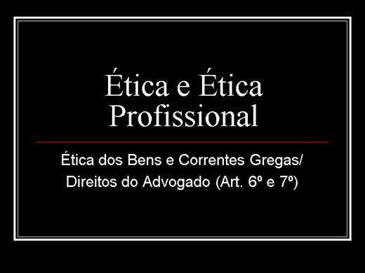 Curso Online de ÉTICA PROFISSIONAL