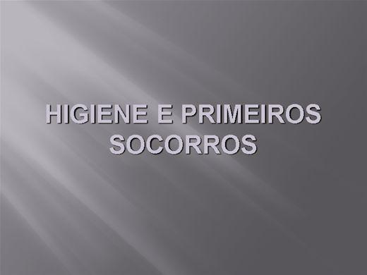 Curso Online de HIGIENE E PRIMEIROS SOCORROS DIVERSOS