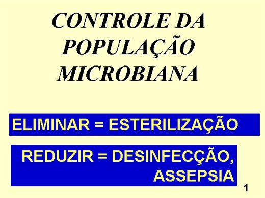 Curso Online de CONTROLE DE MICRORGANISMOS