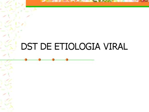 Curso Online de Agente viral de Doenças Sexualmente Transmissíveis